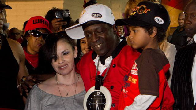 Grand opening of Flavor Flav's 'House of Flavor' take out restaurant in Las Vegas, NV