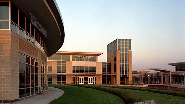 The Health Sciences Building, scene of the stabbing. (Via Gensler.com)