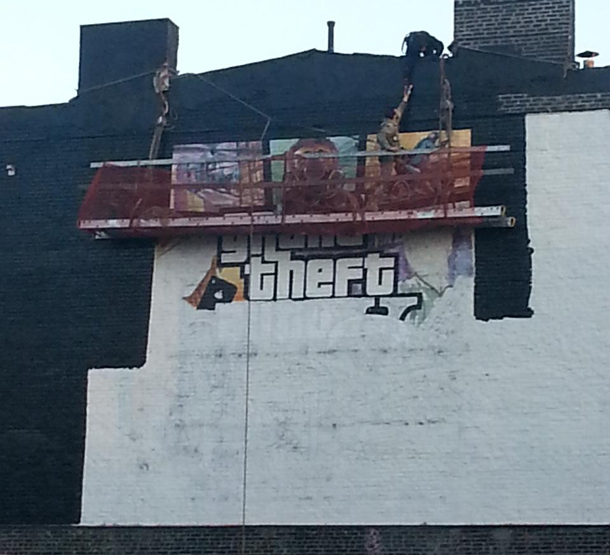 GTA V Mural