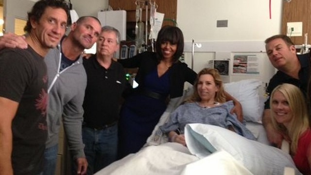 Heather Abbott Michelle Obama, Michelle Obama, Boston Bombing Victim