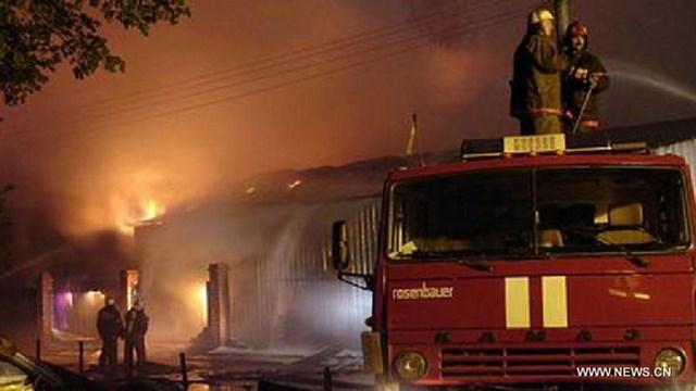 Hospital Fire in Russia, Psychiatric Hospital Fire