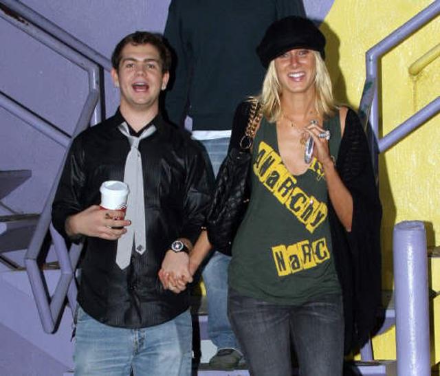 Kimberly and Jack Osbourne