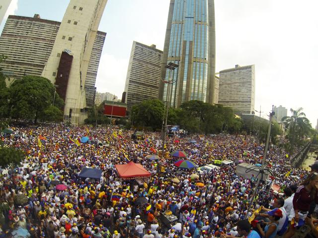 venezuela election demonstration