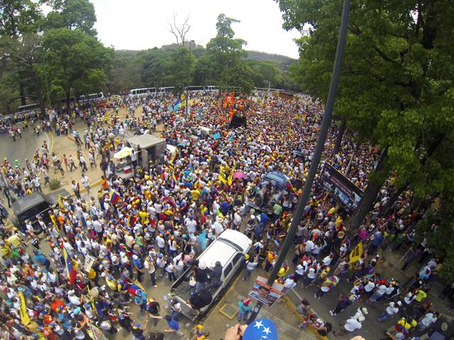 Venezuela election demonstration caracas