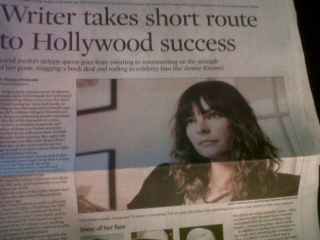 Kelly Oxford's Success