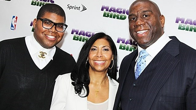 Magic Johnson Son, E.J. Johnson