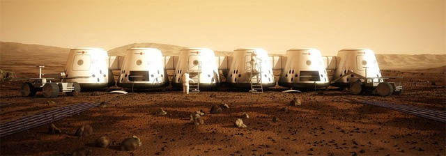 mars one, pods, homes