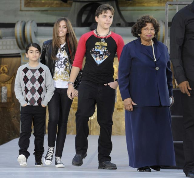 jackson's children and mother