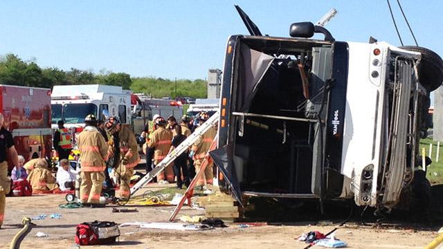 Irving Bus Crash