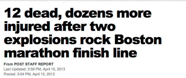 boston bombing 12 dead
