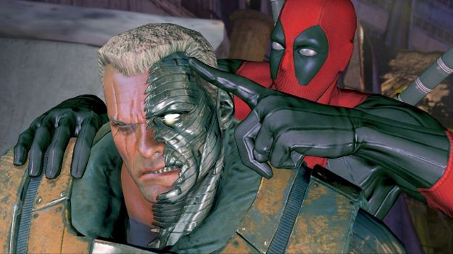 Cable Deadpool Game