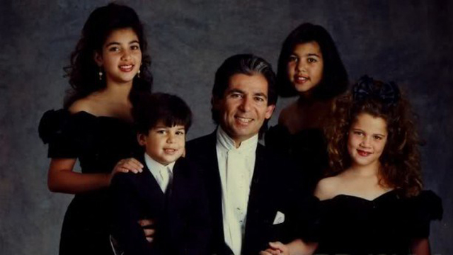Robert Kardashian and His Kids