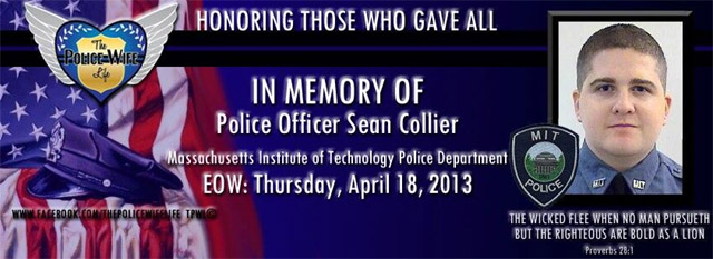 Sean Collier MIT Cop shot.