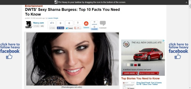 Sharna Burgess, DWTS
