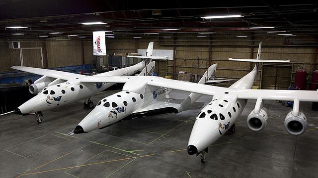 SpaceShipTwo, Virgin galactic test flight