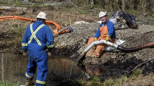 Oil Spill Arkansas