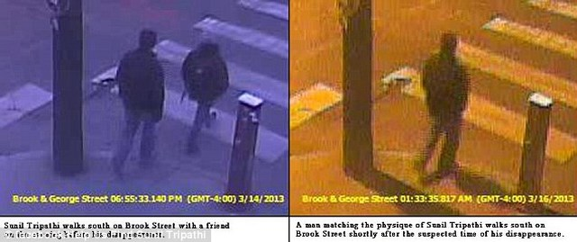 Sunil Tripathi Missing, Boston Marathon Bombing Suspect