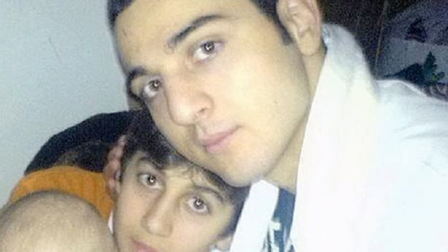 Tamerlan Tsarnaev and his younger brother Dzhokhar, years before they turned into killers.