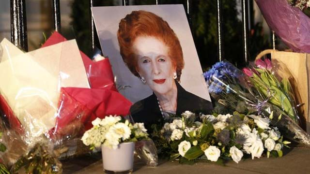 Margaret Thatcher Funeral Guest List.