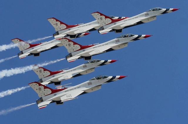 us air force grounded thunderbirds