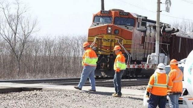 Train Accident, Batavia Iowa