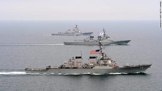 North Korea Threatens US, North Korea, Destroyer Ship