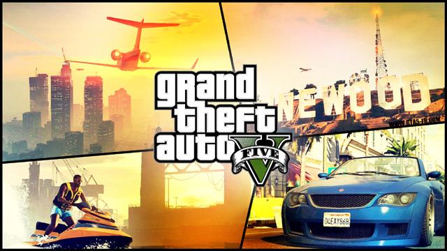 Grand Theft Auto V Mural