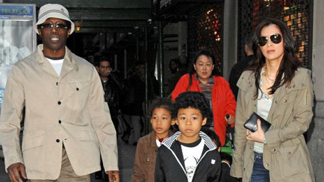 Wesley Snipes Family