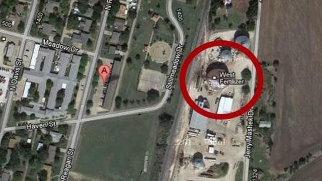 West Fertilizer, Texas Plant Explosion, West Texas Plant Explosion