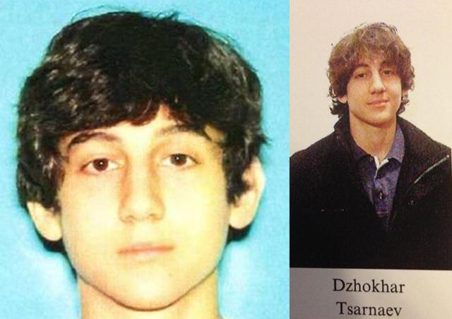dzhokhar tsarnaev bombing suspect number 2