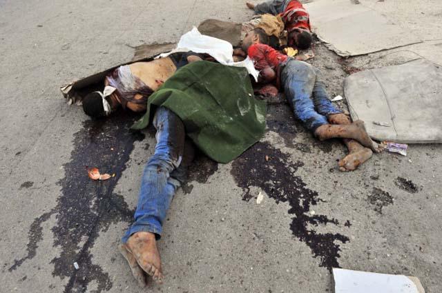 Civil War Bodies Syria