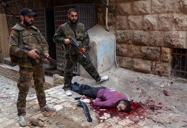 Syria Civil War Revolution Death photos