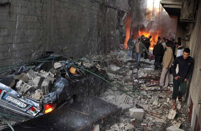 Syria Civil War Car bomb