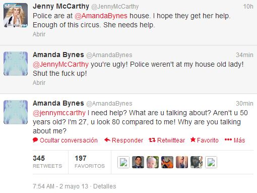 amanda jenny mccarthy tweet