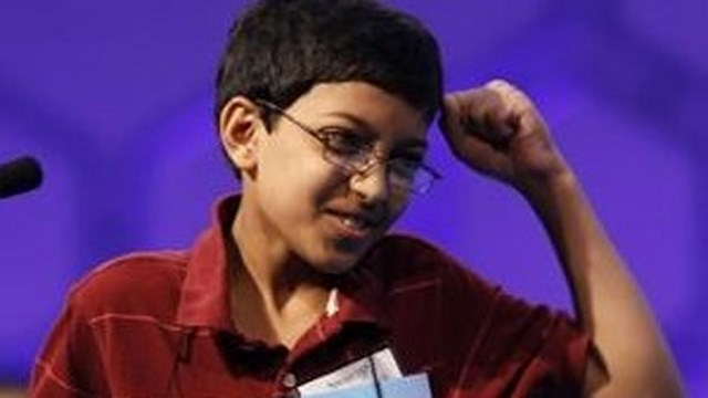 Arvind Mahankali Spelling Bee