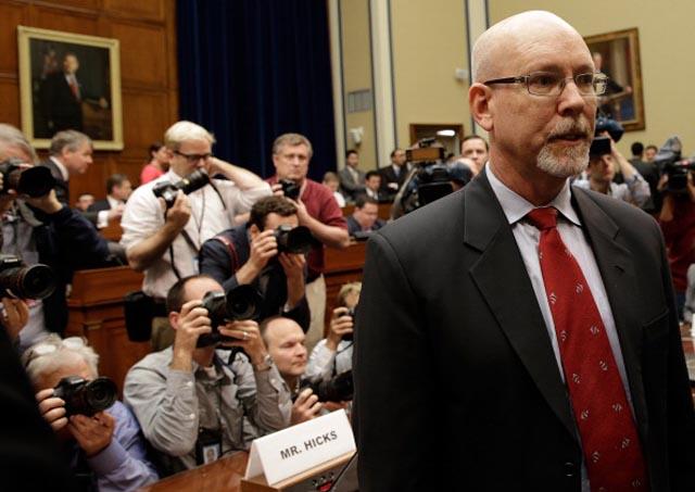 Greg Hicks Testimony Benghazi