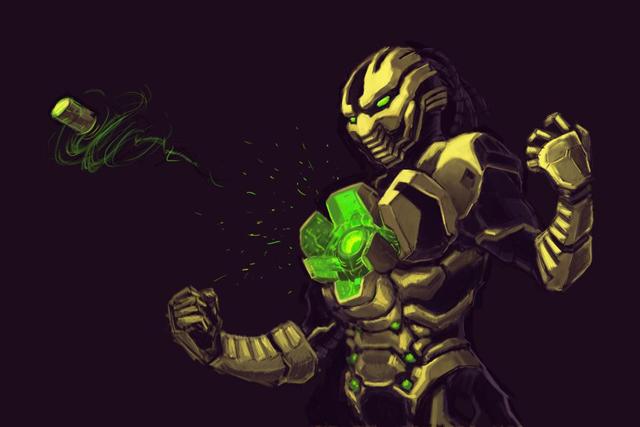 Fighting Games Art