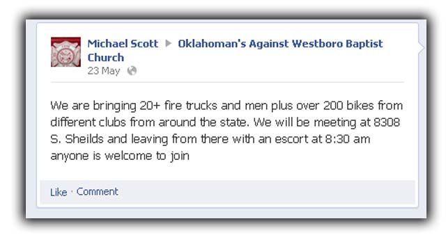Westboro Baptist Church Tweets About Dead Houston Firefighters