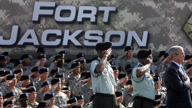 General Bryan Roberts, Fort Jackson South Carolina General Suspended