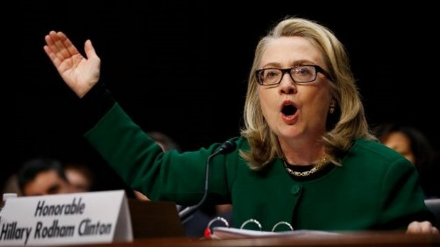 Hillary Clinton Testifies, Mark Thompson, Gregory Hicks