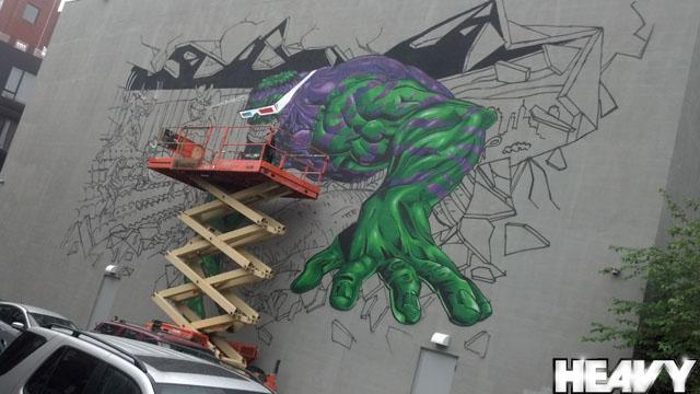 Comic Book Wall Mural