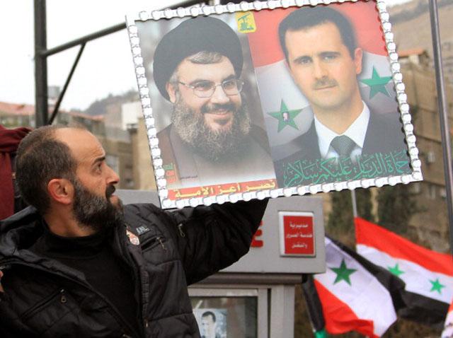 Syria Hezbollah Assad