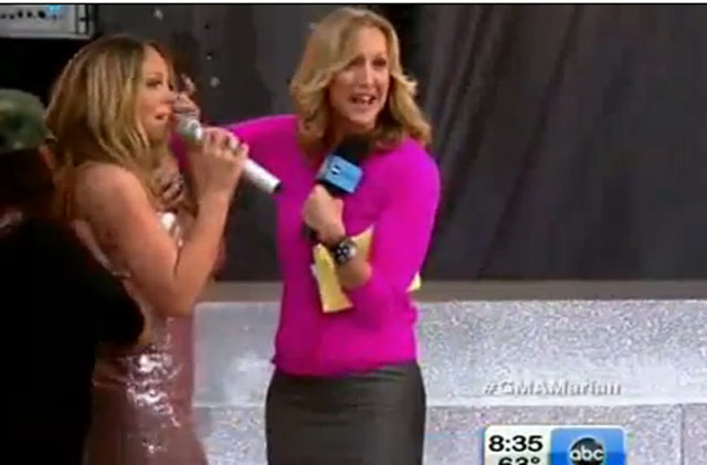 Mariah Carey Wardrobe Good Morning America