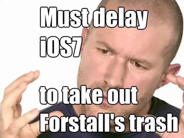 jony ive, ios 7 rumors