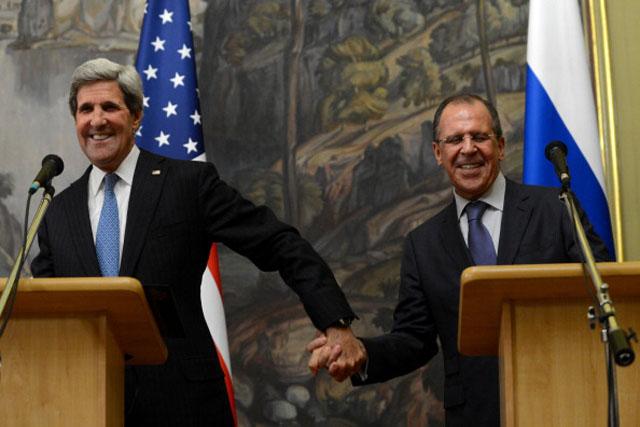 John Kerry Russia Syria
