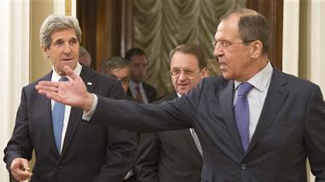 Sergey Lavrov Kerry U.S Russia Syria