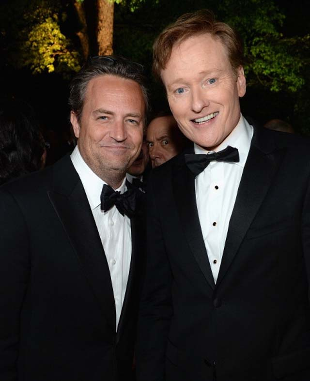 Matthew Perry, Photo bomb, Conan O'Brien, Kevin Spacey