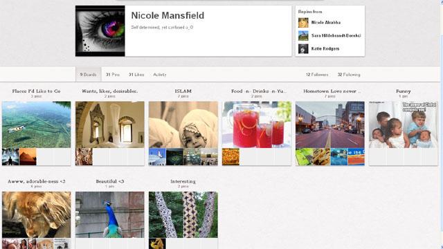 Pintrest Nicole Lynn Mansfield