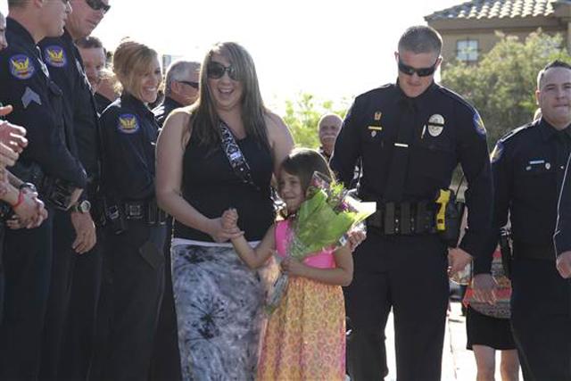 Daughter of Fallen Officer Daryl Raetz
