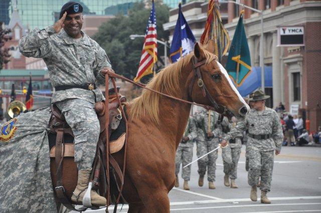 General Bryan Roberts, Fort Jackson South Carolina General Suspended.